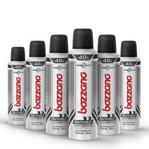 Kit-Desodorante-Aerossol-Bozzano-Invisible--com-6-unidades