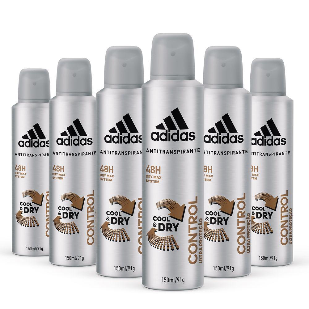 2bd65cf0196 Kit Desodorante Aerossol Adidas Masculino Cool   Care Control Energy ...