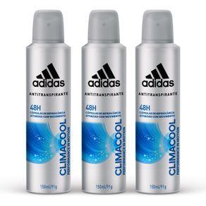 Kit-Desodorante-Aerossol-Adidas-Climacool-Masculino-com-3-Unidades