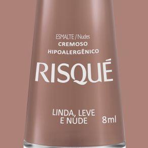 Esmalte-Risque-Cremoso-Linda-Leve-e-Nude-com-8ml