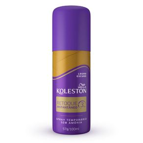 Retoque-Instantaneo-Spray-Koleston-cor-Louro-Escuro-com-100ml