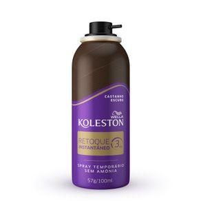 Retoque-Instantaneo-Spray-Koleston-cor-Castanho-Escuro-com-100ml
