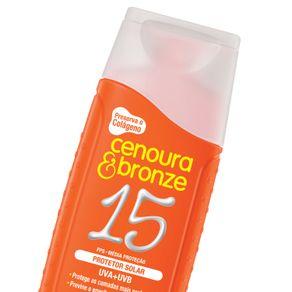 Protetor-Solar-Cenoura-e-Bronze-Efeito-Dourado-FPS15-com-110ml