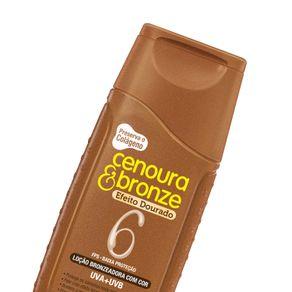 Protetor-Solar-Cenoura-e-Bronze-Efeito-Dourado-FPS6-com-110ml