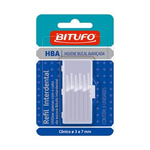 Refil-Interdental-Bitufo-Conica-Com-6-unidades