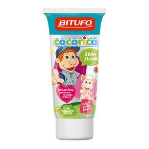 Gel-Dental-Bitufo-Cocorico-Sem-Fluor-Sabor-Tutti-Frutti-com-90g