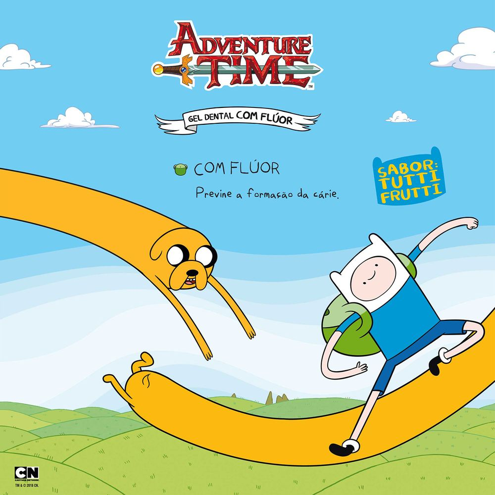 a63e6465e Gel Dental Kids Sanifill Adventure Time com 50g - Coty
