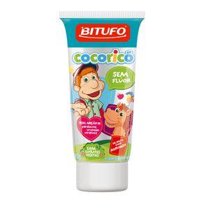 Gel-Dental-Bitufo-Cocorico-Sem-Fluor-Sabor-Morango-com-90g