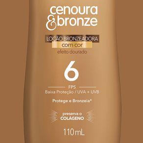 Locao-Bronzeadora-Cenoura-e-Bronze-Efeito-Dourado-FPS6-com-110ml