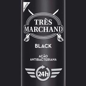 Desodorante-Aerossol-Tres-Marchand-Black-150ml