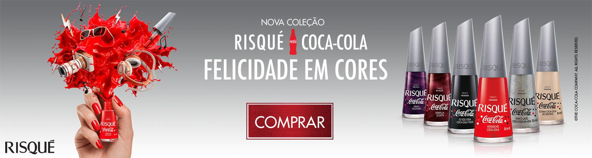 Risqué Coca sem brinde