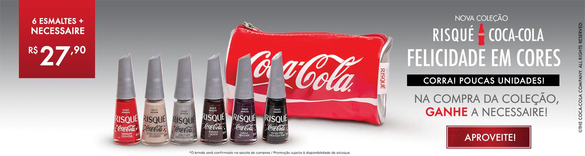 Risqué Coca com brinde